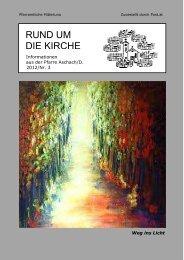 Pfarrbrief November 2012 - Pfarre Aschach an der Donau - Diözese ...