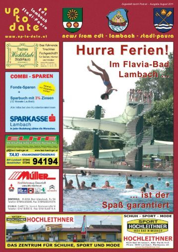 Hurra Ferien! - Up-to-date