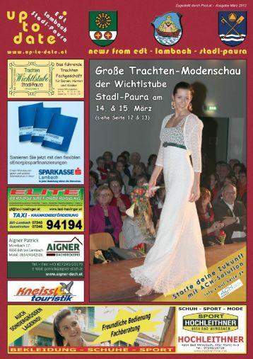 Zugestellt durch Post.at - Ausgabe März 2012 - Up-to-date