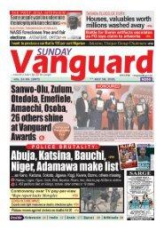 18072021 - Sanwo-Olu, Zulum, Otedola, Emefiele, Amaechi, Osoba, 26 others shine at Vanguard Awards
