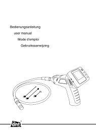 Bedienungsanleitung user manual Mode d'emploi ... - DNT