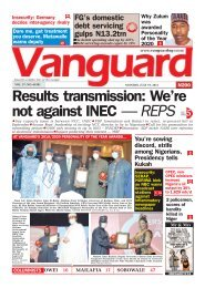 19072021 - Results transmission: We're not against INEC — REPS