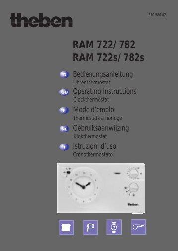 RAM 722 D/F/GB/NL/I