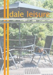 Dale Leisure 2021 New Outdoor Furniture Ranges