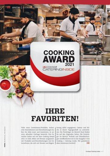 Gewinner Food: Cooking Award 2021