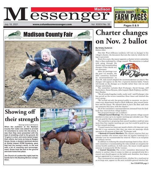 Madison Messenger - July 18th, 2021