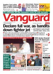 20072021 - Declare full war, as bandits down fighter jet — RETIRED MILITARY OFFICERS TELL FG