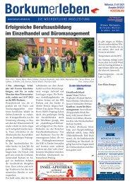 21.07.2021 / Borkumerleben - Die wöchentliche Inselzeitung