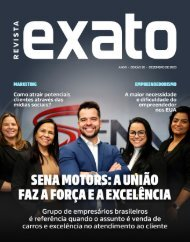 Revista EXATO - Edição 20 - Dezembro 2020