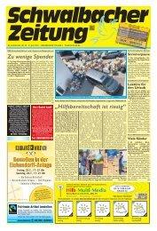 Schwalbacher Zeitung Ausgabe Kw 29-2021