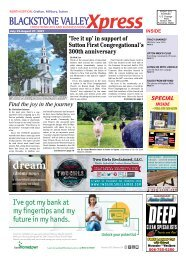 Blackstone Valley Xpress July 23 2021 Issue