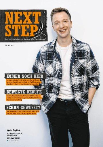 2021-07 NextStep - der nächste Schritt ins Studium oder Berufsleben