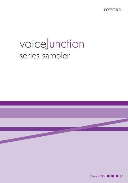 Voice Junction series sampler