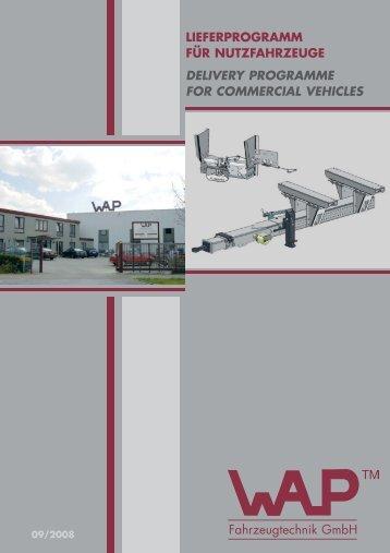 NFZ - Programm - WAP Fahrzeugtechnik