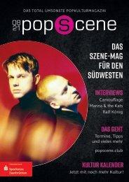POPSCENE + KULTURKALENDER_2021.08_cover