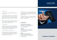 GICON® Group - Compliance Guidelines