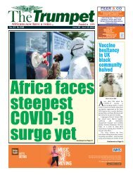 The Trumpet Newspaper Issue 548 (June 30 - July 13 2021)
