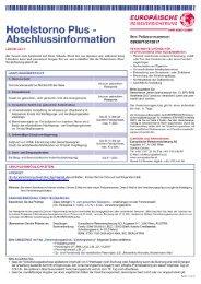 03938 Hotelstorno Plus PDF DEUTSCH Vis-Edition.dot - Hotel Erika