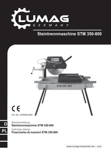 Steintrennmaschine STM 350-800 - Matom