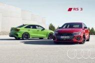 Audi RS 3 Verkaufsunterlagen