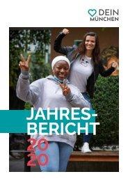 DEIN MÜNCHEN - JAHRESBERICHT 2020