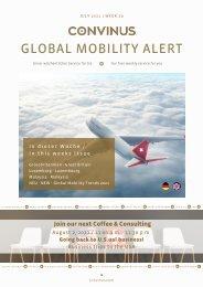 CONVINUS Global Mobility Alert Week 29