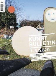 Kunstbulletin Juli/August 2020