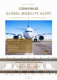 CONVINUS Global Mobility Alert Week 30