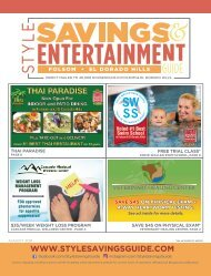 Savings and Entertainment Guide August 2021