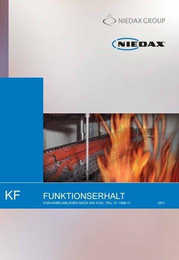 FUNKTIONSERHALT - Niedax Kabelverlege