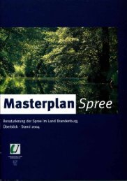 Masterplan Spree - MUGV