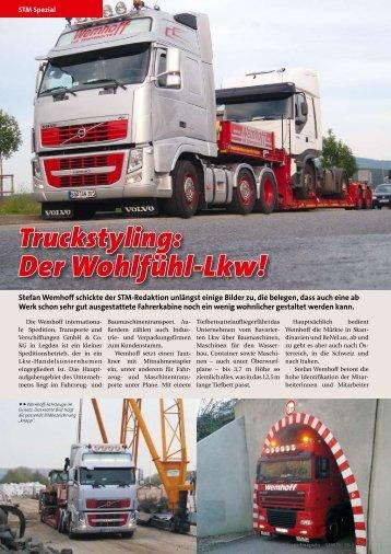 Truckstyling: Der Wohlfühl-Lkw!
