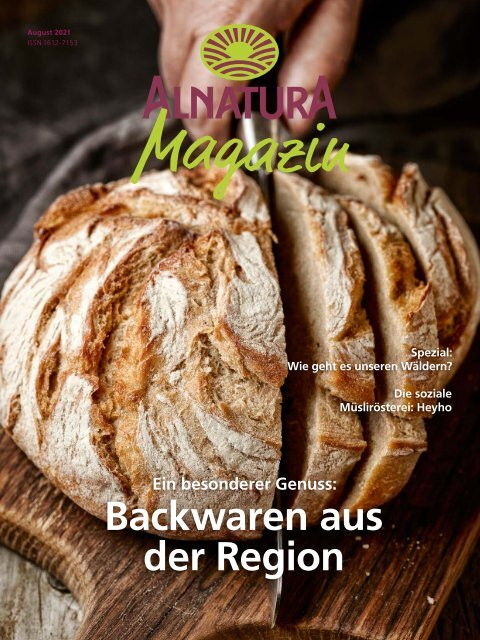 Alnatura Magazin August 2021