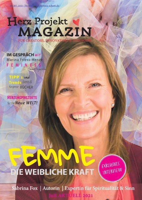 Herz Projekt Magazin #9. FEMME Die weibliche Kraft