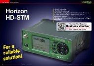 Horizon HD-STM - TELE-satellite International Magazine