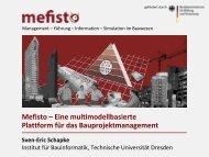 Mefisto – Eine multimodellbasierte Plattform für das ...