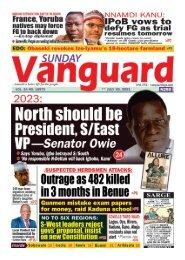 25072021 - North should be President S/East VP - Senator Owie