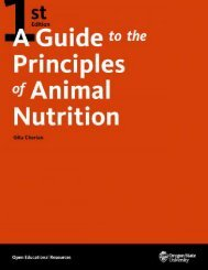 A Guide to the Principles of Animal Nutrition, 2020