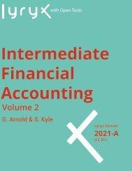 Intermediate Financial Accounting Volume 2, 2021