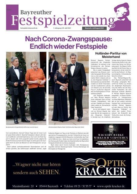 Bayreuther Festspielzeitung 2021
