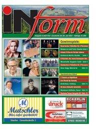 INform Ausgabe 5 in 2021 · 28. Juli