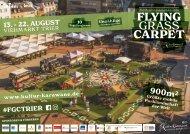 Flyer Grass Carpet August 2021 Trier