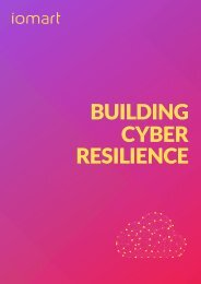 iomart - Building Cyber Resilience
