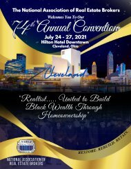 The NAREB 74th Annual Convention Digital Souvenir Journal