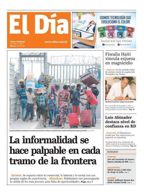 Edición impresa 27-07-2021