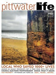 Pittwater Life August 2021 Issue