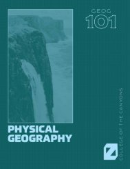 Physical Geography - Version 1, 2020a