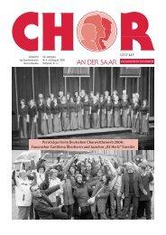 Preisträger beim Deutschen Chorwettbewerb 2006 - Saarländischer ...