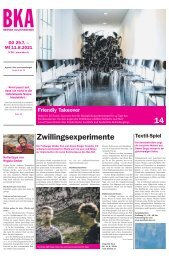 Berner Kulturagenda N°26