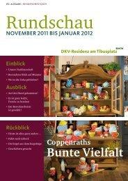 Ausgabe November 2011 - DKV-Residenz am Tibusplatz